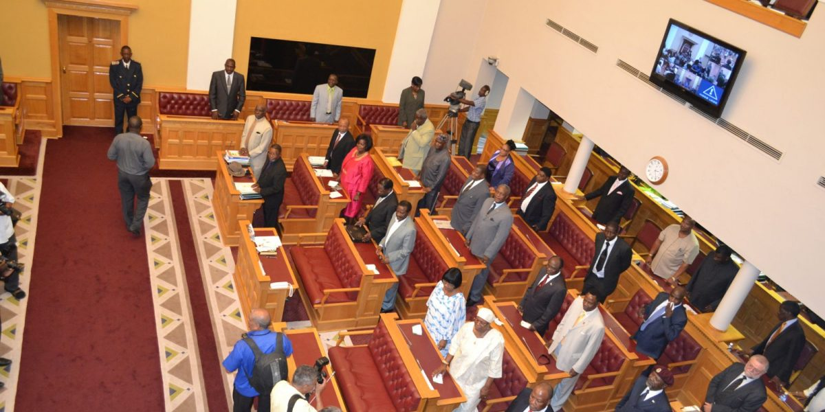 File photo of a scene from the National Assembly chamber.