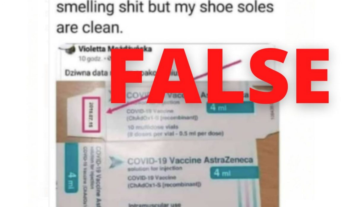 Packaging date hoax