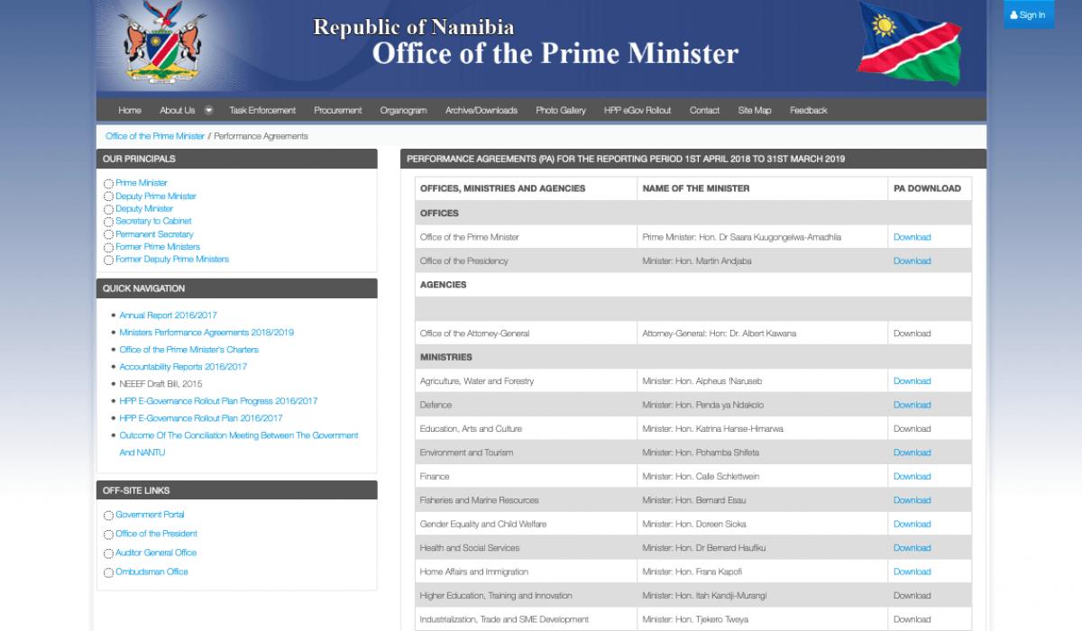 Screenshot_2019-07-03 Performance Agreements - GRN Portal
