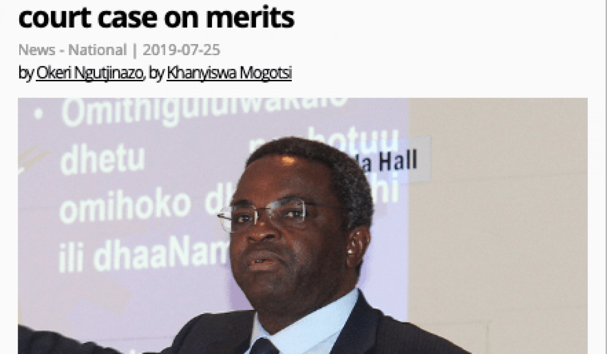 Screenshot_2019-07-29 Itula dares Swapo to conclude congress court case on merits - The Namibian